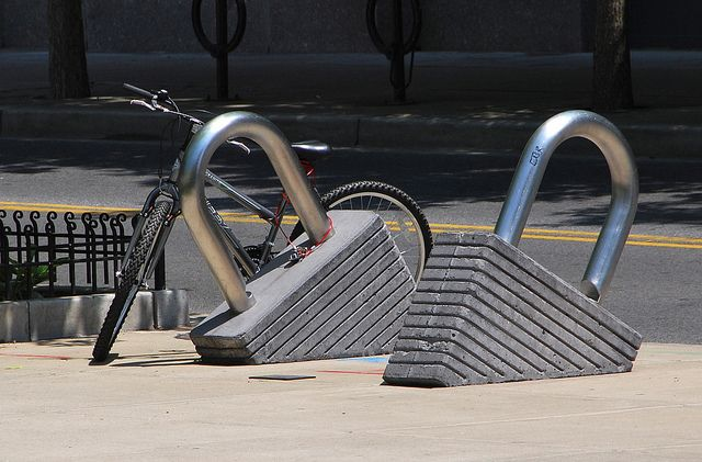 Bike Lock Rack Bicycle Bike Bike Parking