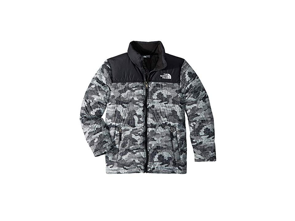 Boys North Face Reversible Black Jacket
