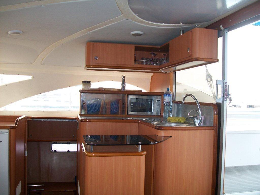 Corporacion Ballota Kelsall 46 Galley Boat Galley Yacht Interior Kitchen