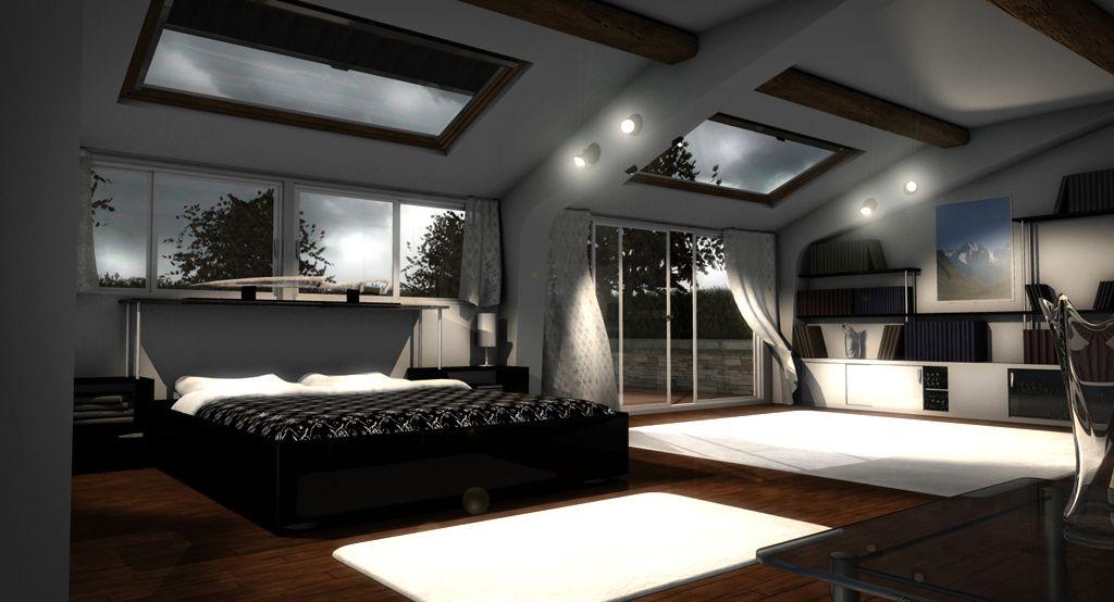 bedroom, sky, illuminated   Projet EHPAD   Pinterest   Lieux ...