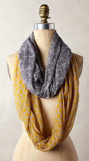 love this two-tone infinity scarf #anthrofave http://rstyle.me/n/pjm4mr9te