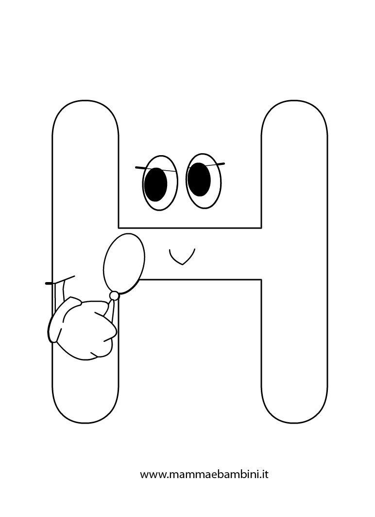 Lettere Alfabeto Da Copiare lettere alfabeto da stampare e ritagliare - disegni da
