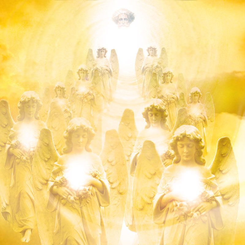 pictures of Angels | Angels of Light Descending into the World