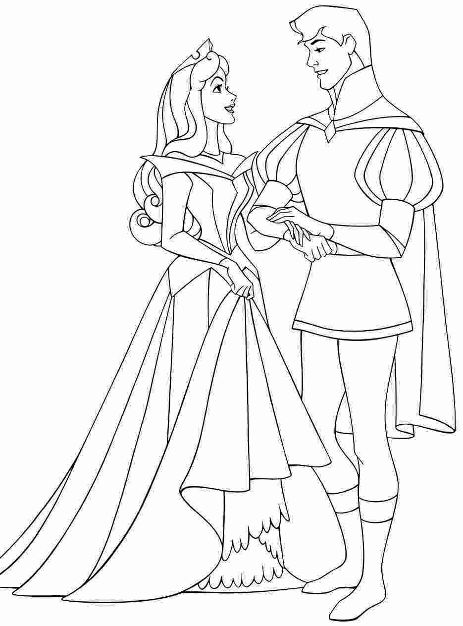 32 Princess Aurora Coloring Page in 2020 Disney coloring