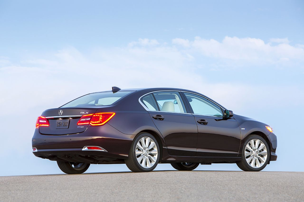New Acura RLX Sport Hybrid 2014 car wallpaper Car