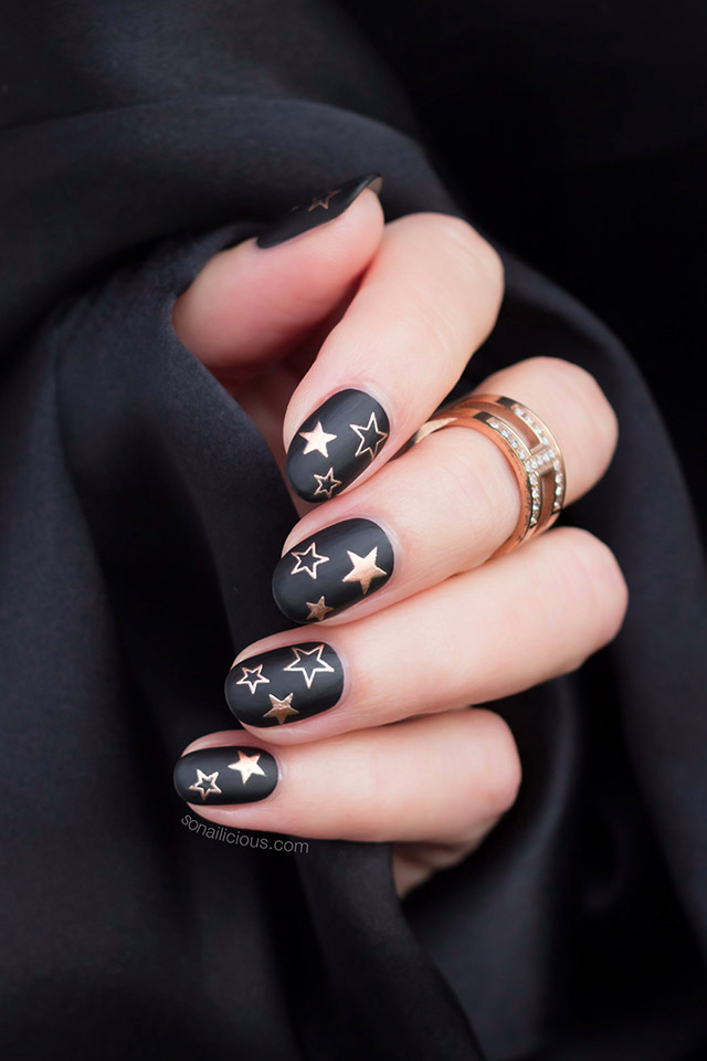 Photo of Star Nails. Inoltre, How-To ed emozionanti notizie! -SoNailicious