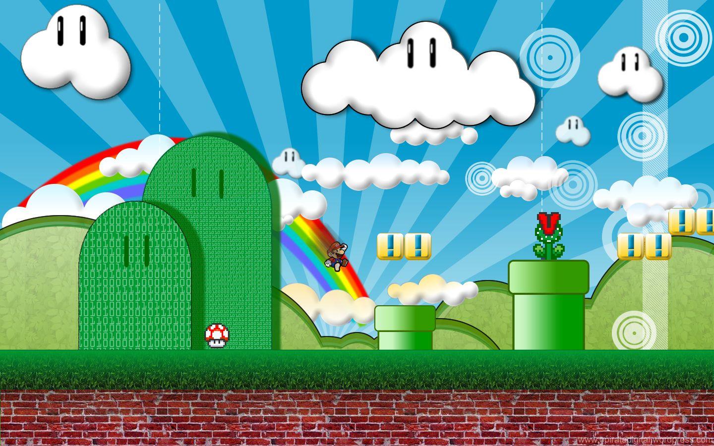Desktop Backgrounds, Super Mario Bros, 1, Geek, Nintendo, Geeks, Nerd
