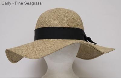 Carly fine weave sea grass floppy
