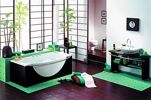 Green At Peace Bano Relajante Color Para Banos Estilo De Bano