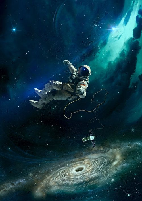 astronaut in deep space - photo #20
