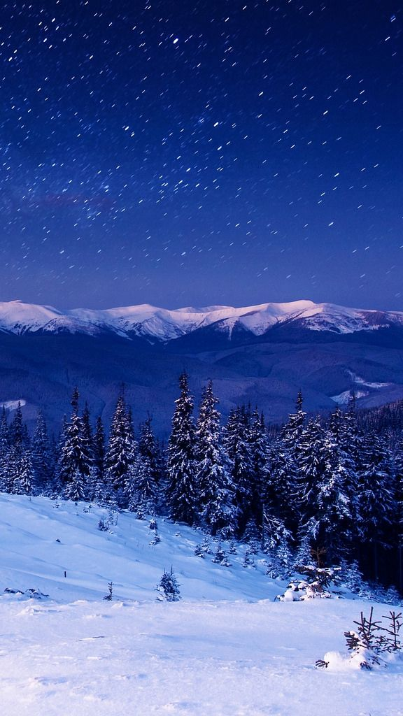 Winter Night Holiday Pictures Pinterest Iphone 6 Wallpaper