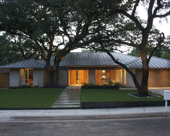 Modern Ranch Style Home Beautiful Homes Design Ranch House
