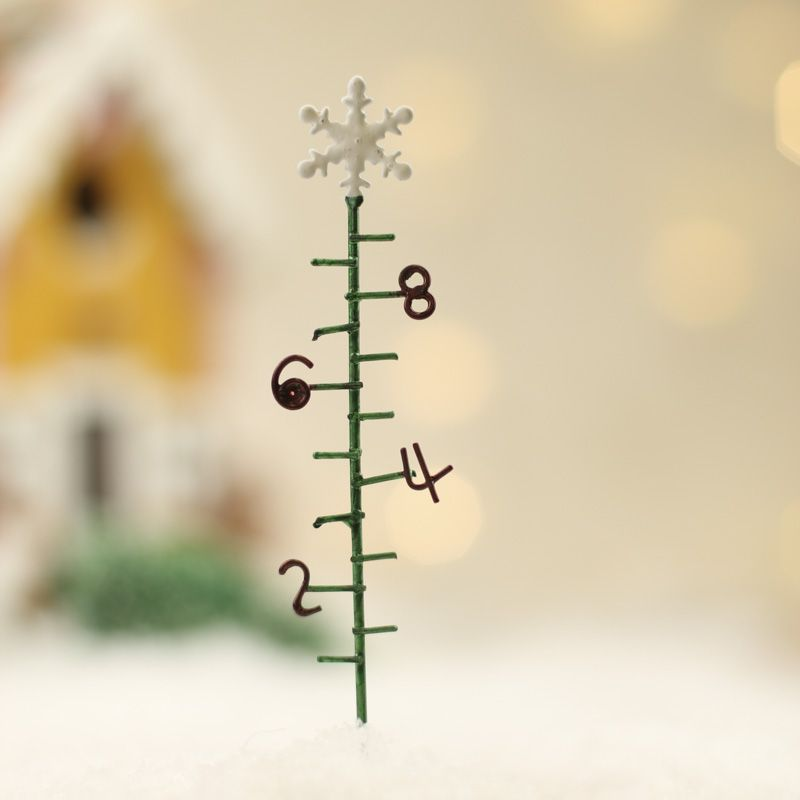 Miniature Snow Gauge