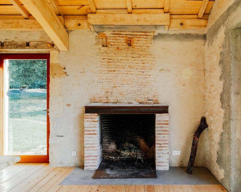 Loft Dans Une Ancienne Ferme Par Atelier Boteko Loft Cheminee