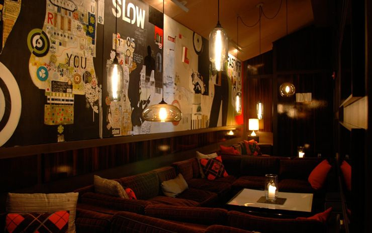 Thom bar a modern deco inspiration for fashionable celebrities