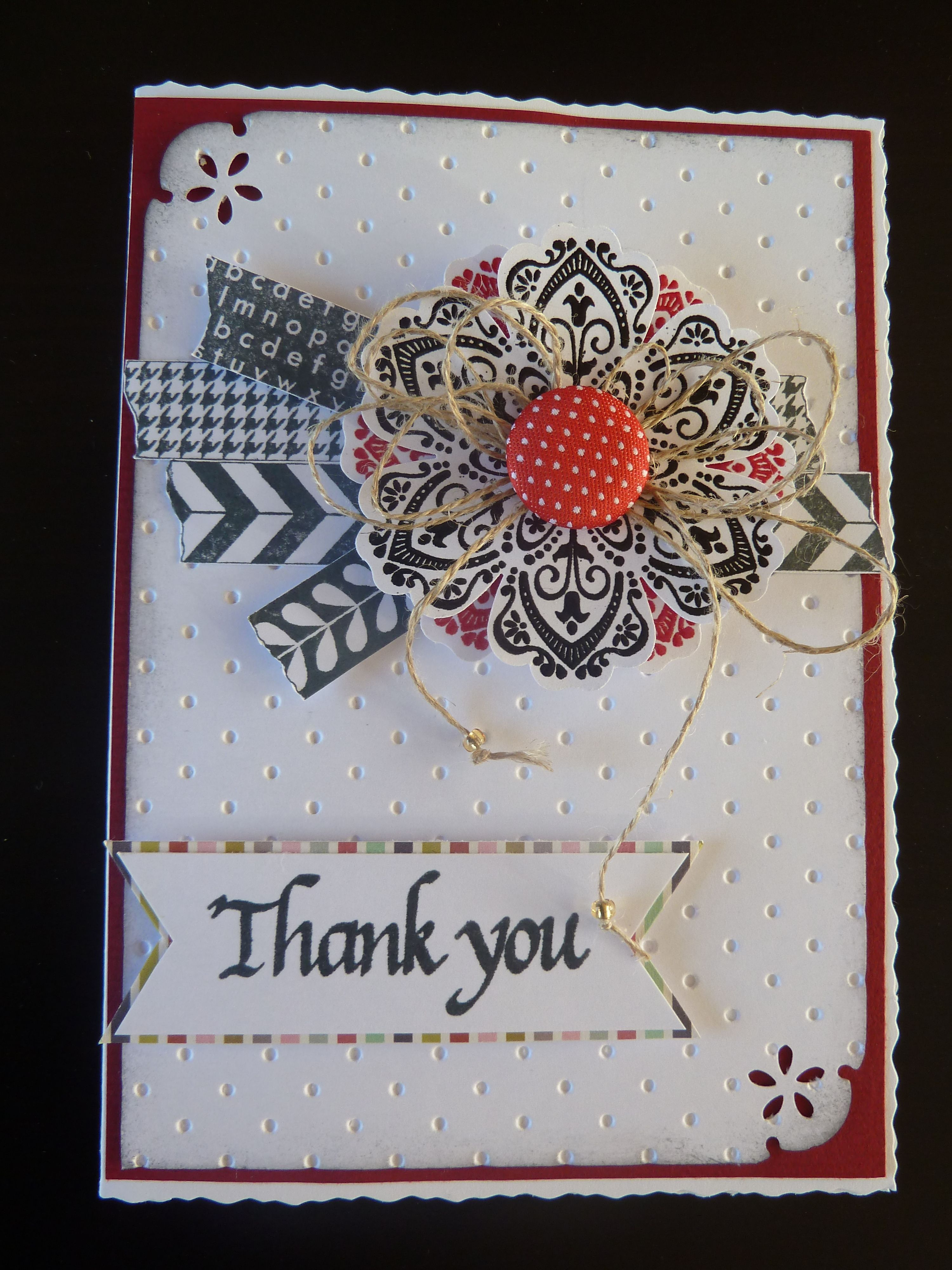 thank you  cards card making cute cards