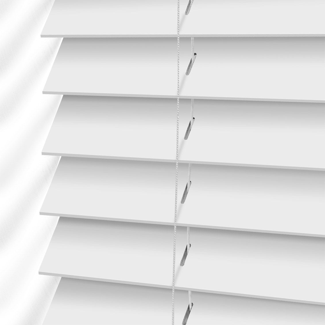 wood faux collection size in home the l x depot decorators blind actual blinds white p w
