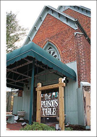 Jonesborough Tennessee Parsons Table Restaurant Now Closed