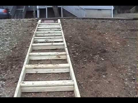 Building Landscape Steps By Mr Energy Youtube Landscape