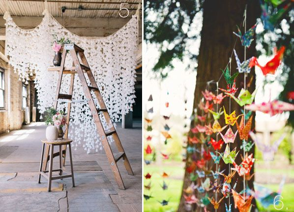How To Make Origami Paper Cranes For Wedding Backdrops ... - photo#7