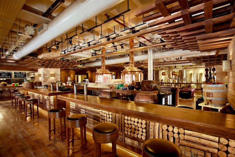 Industrial district micro brewery in bangalore by m