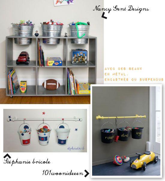 chambre enfant seaux rangement jeux teo pinterest seaux chambre enfant et rangement. Black Bedroom Furniture Sets. Home Design Ideas