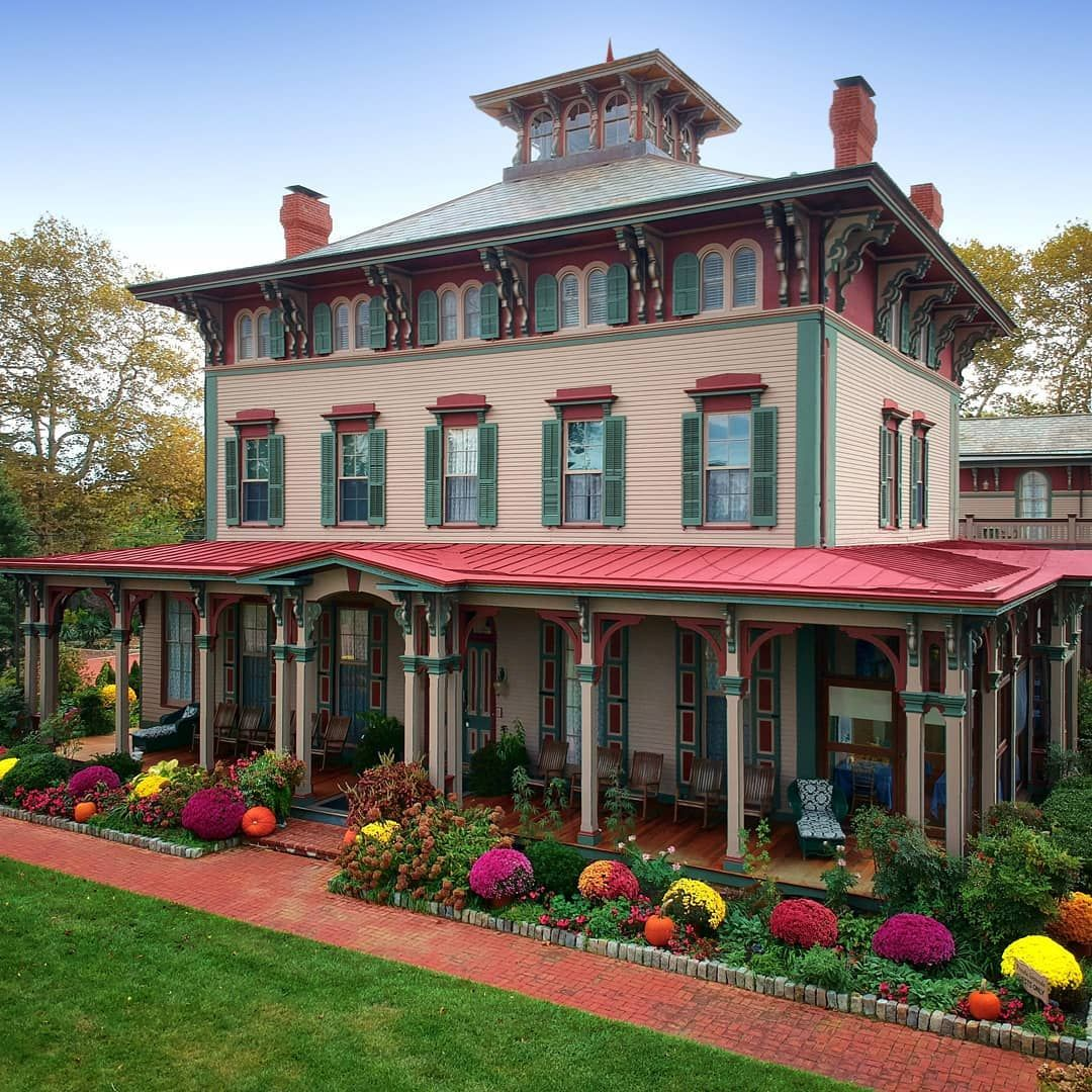 Cape May (New Jersey) Victorian homes, House styles, Old