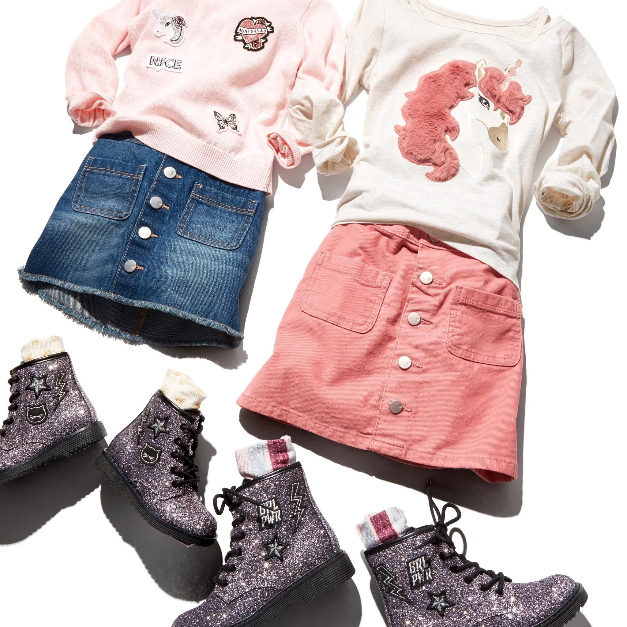 Back To School Unicorn Outfit For Girls This Is A Cute Outfit