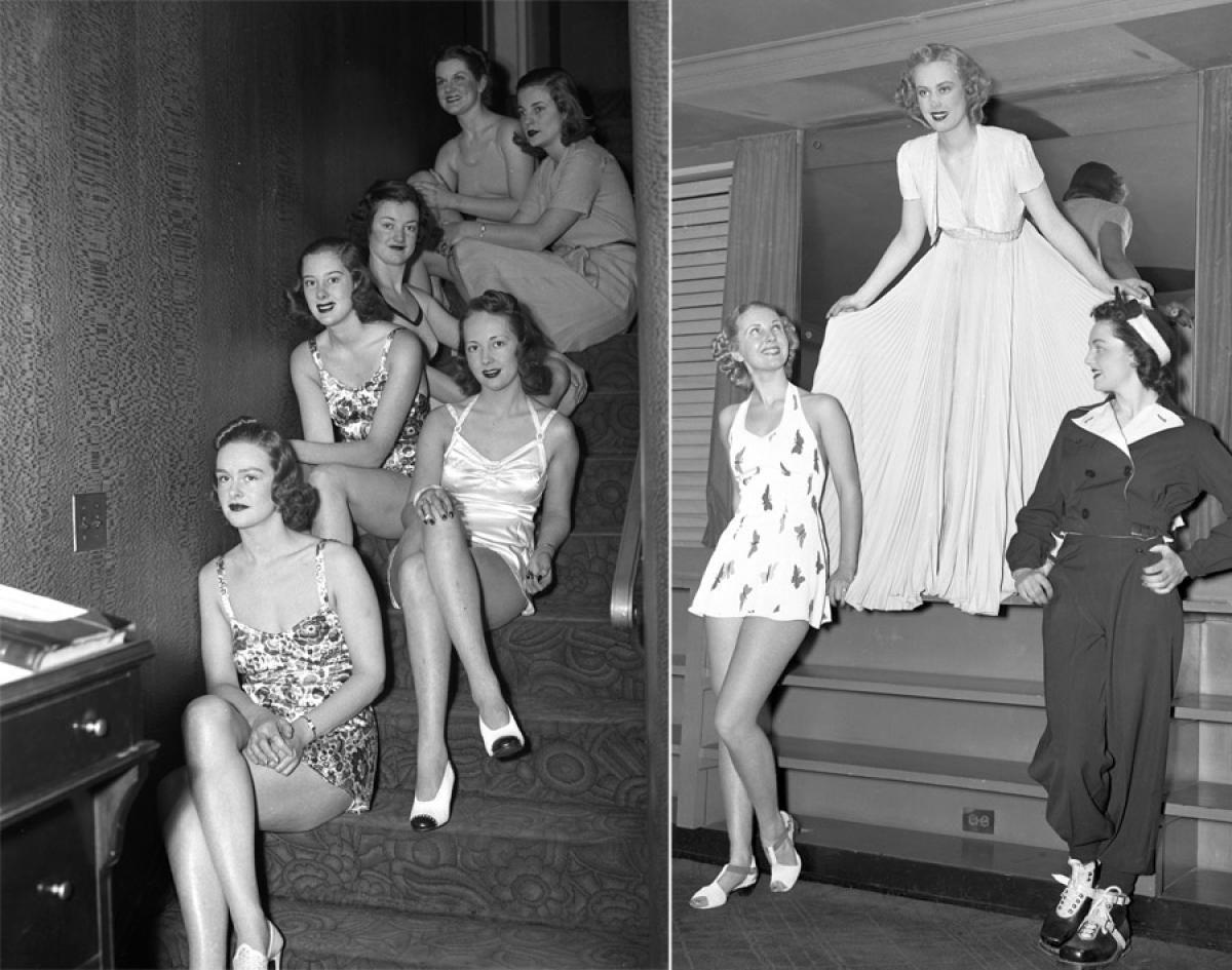 Fashion Shows, 1939 & 1938