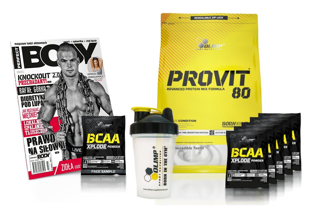 Olimp Provit 80 700g Bialko Sojowe Ekono Spi Wpi Bcaa The Incredibles Protein Mix