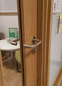 Completed Projects Allgood Door Handles Infection Control Copper