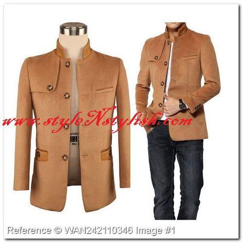 Armani Brand Present Winter Season Stylish Man Coats Jackets -