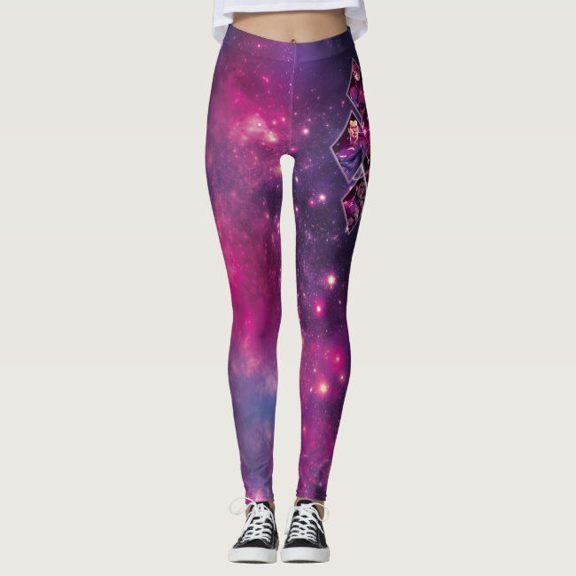 Justice League  Diamond Galactic Group Panels Leggings #Sponsored , #spon, #Galactic, #Group, #Panels, #Diamond, #Shop