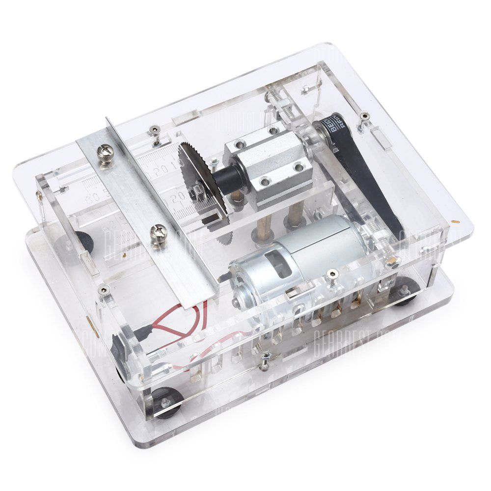 CC05 DIY Acrylic Mini Table Saw-85.91 Online Shopping| GearBest.com