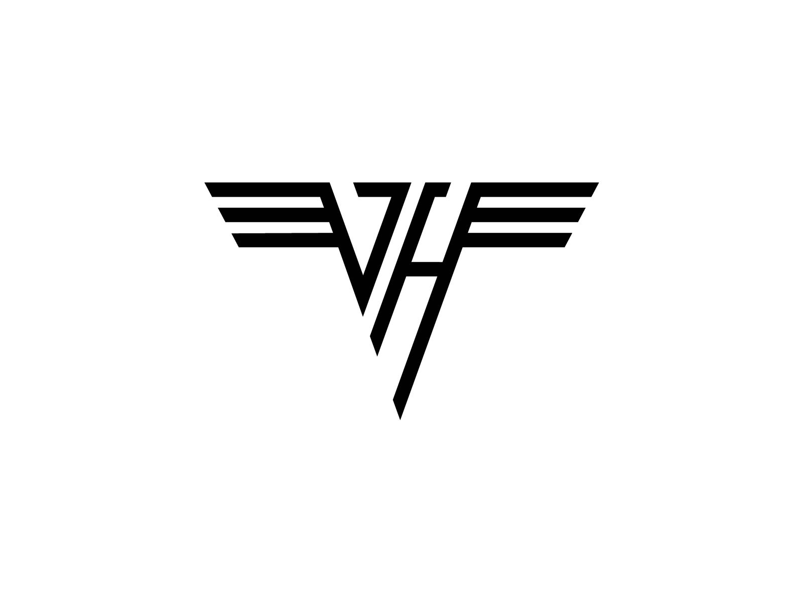 van halen logo and wallpaper van halen rock band logos and google rh pinterest com Death Metal Band Logos heavy metal band logo creator free
