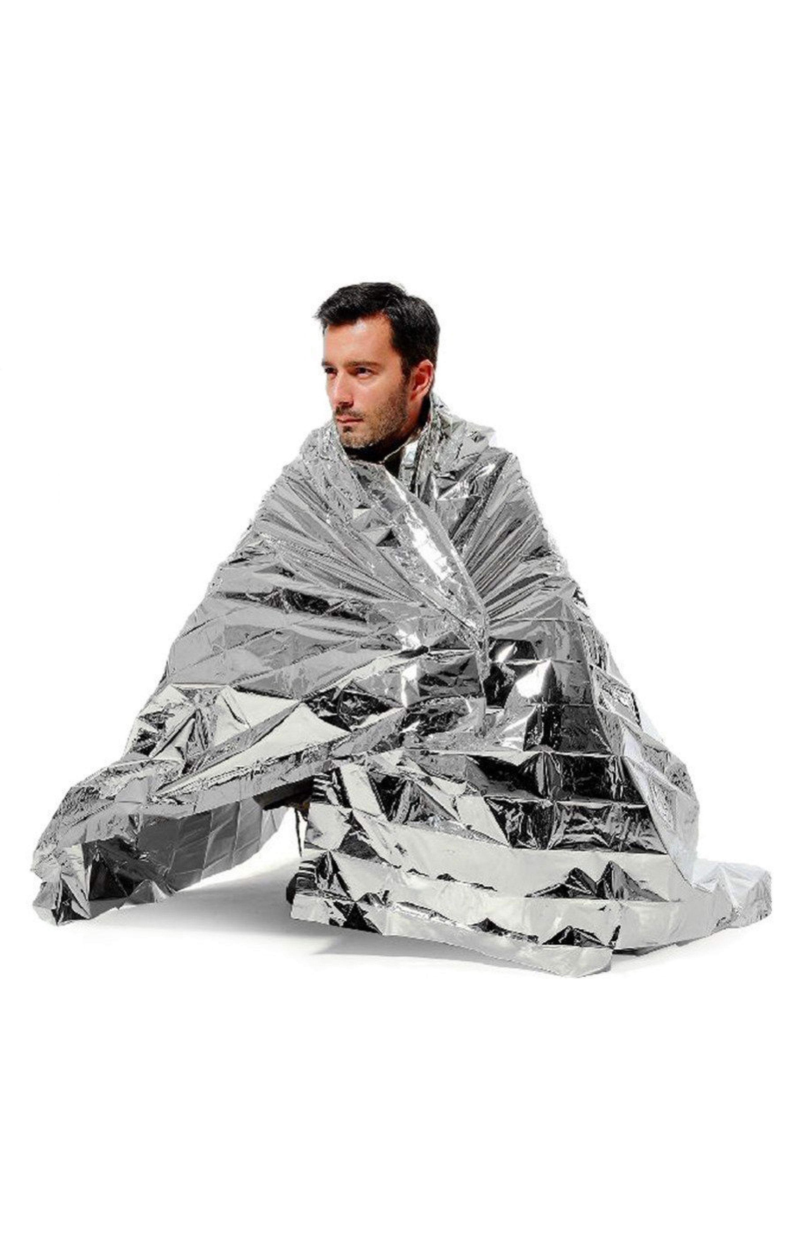 Survival Foil Blanket Emergency First Aid Rescue Thermal Waterproof Outdoor Hot