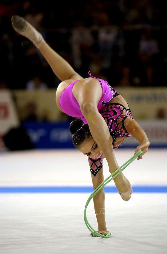 Alina Kabaeva (Russia), World Championships (Madrid) 2001 ...