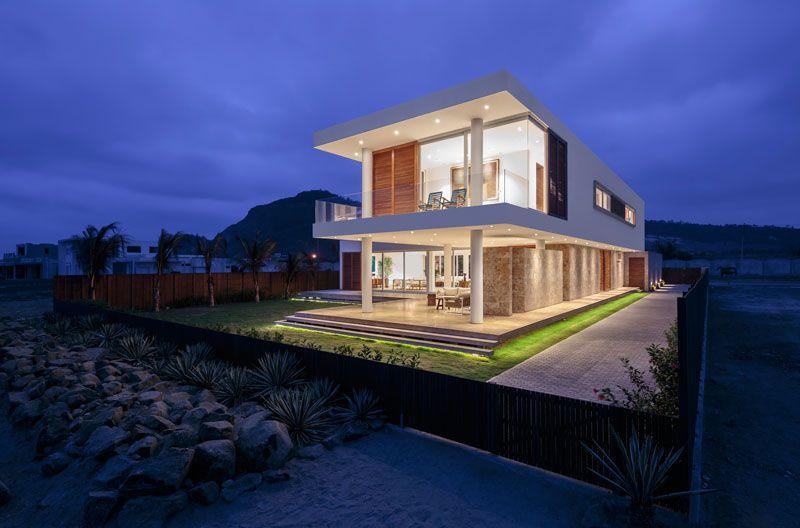 Casa Puerto Cayo Ein Modernes Haus Am Meer In Ecuador EinstilDekorationCom