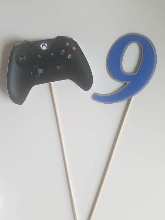 Xbox controller cake topper with number topper Gamer birthday cake - best of coloring page xbox controller