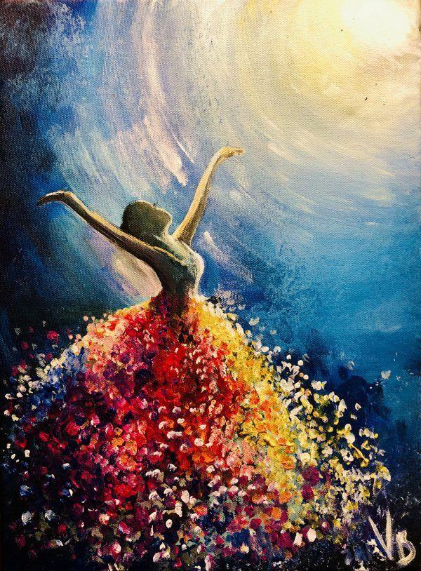 ArtNight – Tänzerin im Licht