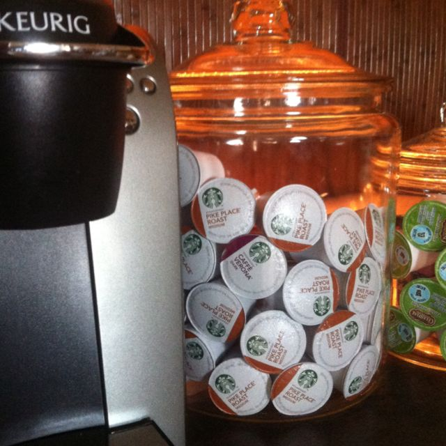Charmant My Solution To Keurig Pod Storage. This Super Clean Set Up Is A Visual  Caffeine
