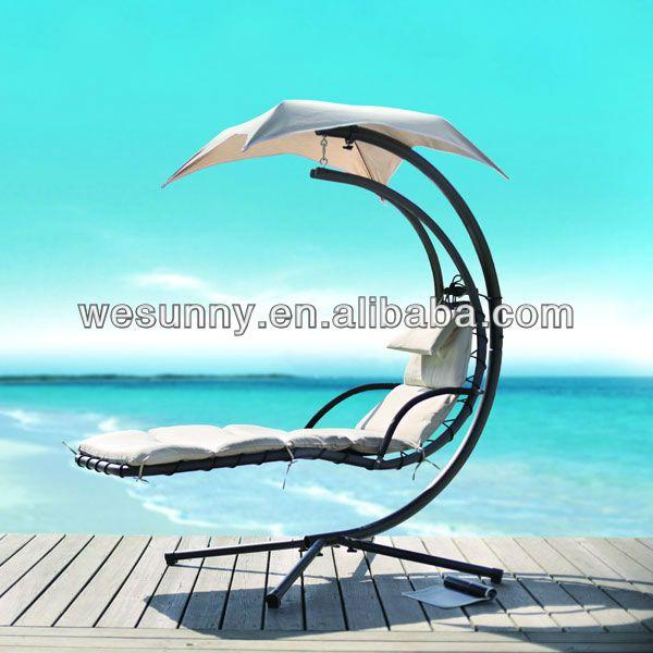 Metall im freien schaukeln für erwachsene innenhof hängen bett - zubehor fur den outdoor bereich