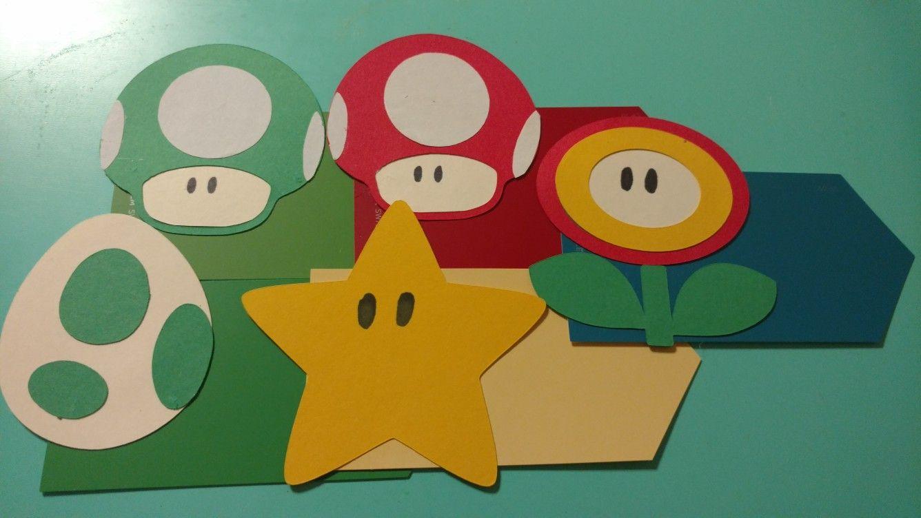 Super Mario Themed Door Decs Door Decs Dorm Door Ra Ideas