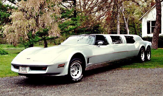 Chevrolet Corvette Stingray Limo Sweet Chevrolet