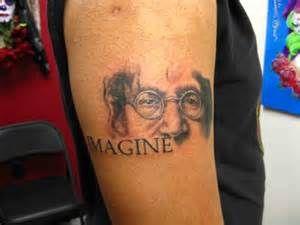 John Lennon Imagine Tattoo Yahoo Image Search Results Imagine John Lennon Tattoos Lennon