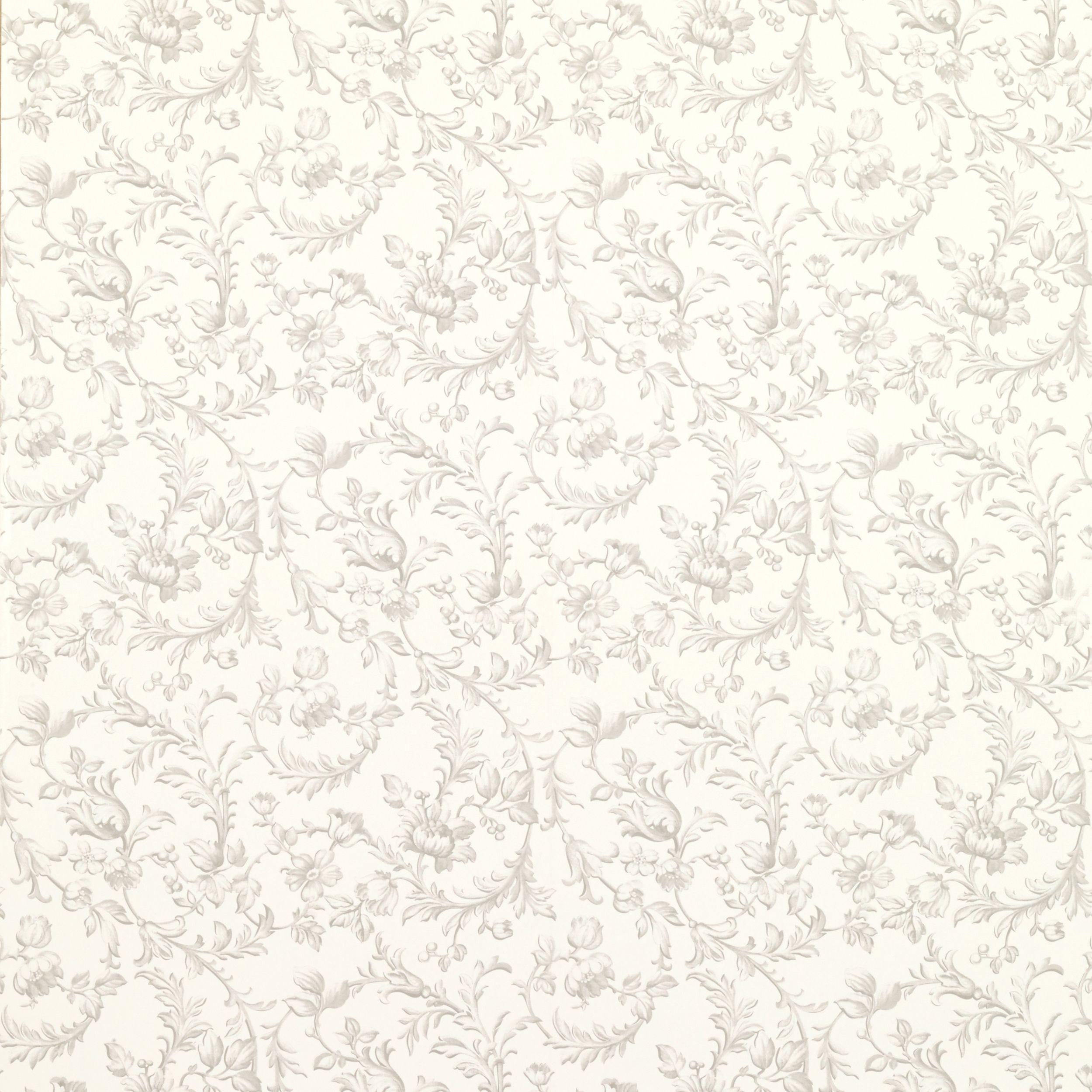 ironwork scroll dove grey wallpaper papier pinterest tapeten papier und stoffe. Black Bedroom Furniture Sets. Home Design Ideas