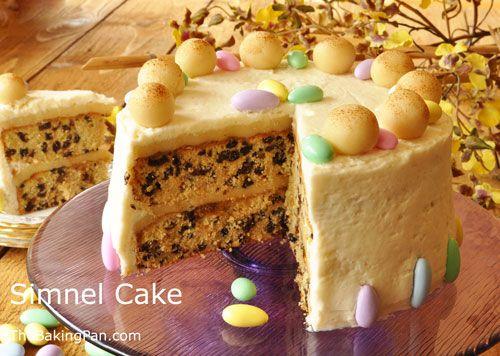 Simnel Cake Recipe | TheBakingPan.com