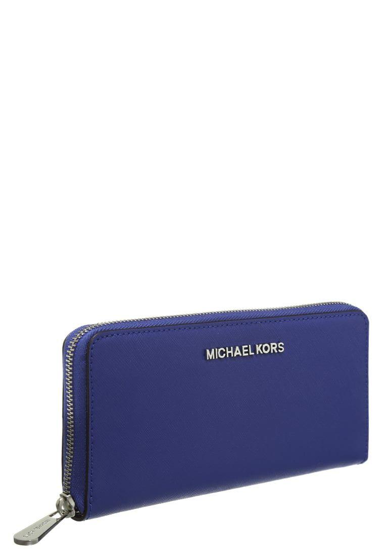 d9f2ff2da2f Portemonnees MICHAEL Michael Kors JET SET - Portemonnee - electric blue  Lichtblauw: € 104,