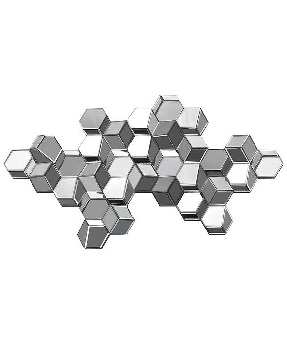 Ren Wil Manhattan 3D Cube Sculpture Mirror