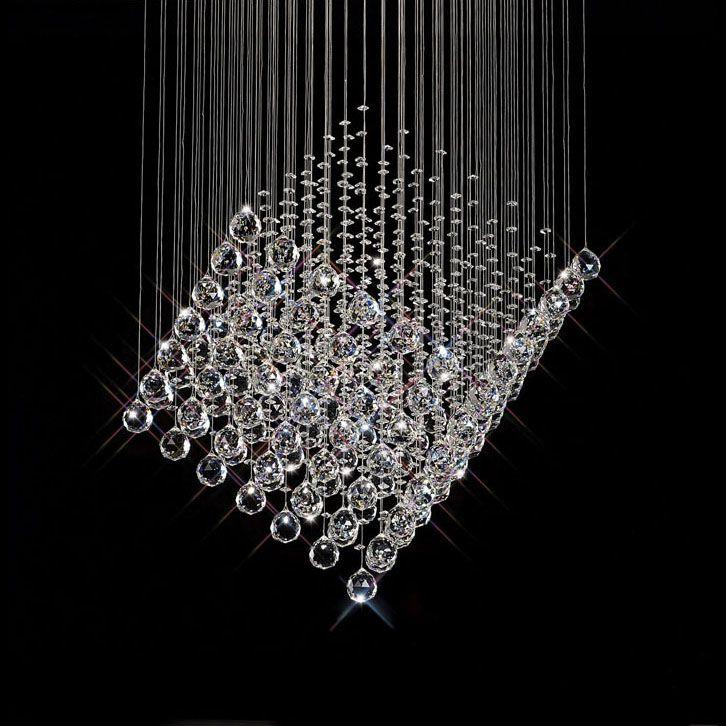 Pin by Loui Sagnier on HOME Chandeliers Pendant Lighting – Crystal Hanging Chandelier